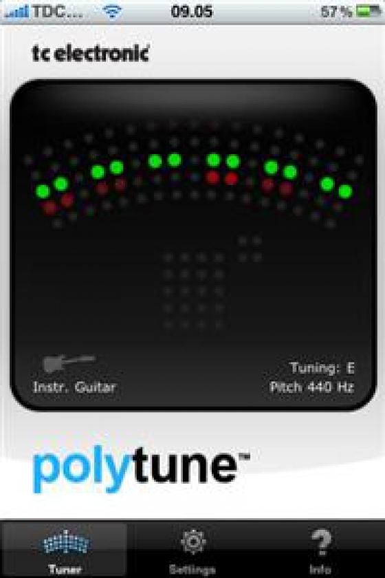 TC Electronic vydá novú aplikáciu PolyTune™ pre iPhone